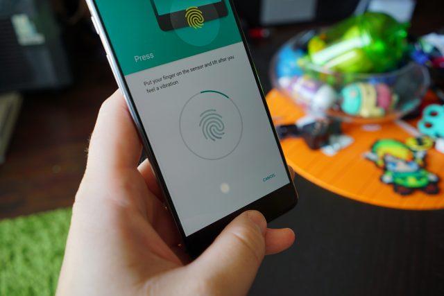 OnePlus 3 fingerprint DSC00346
