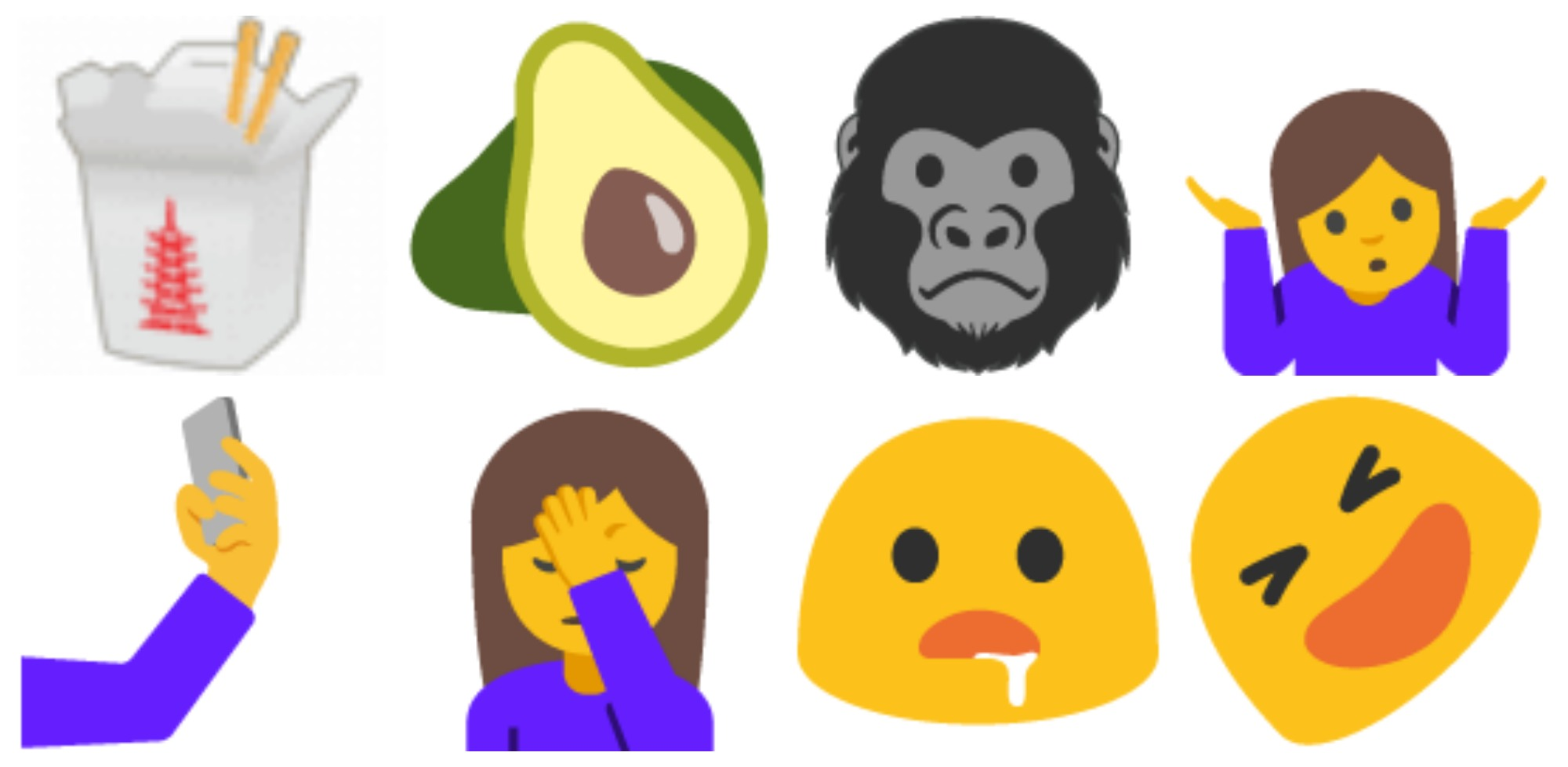 72 new emoji officially headed to Android