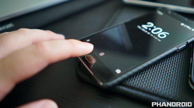 fingerprint OnePlus 3 DSC00341
