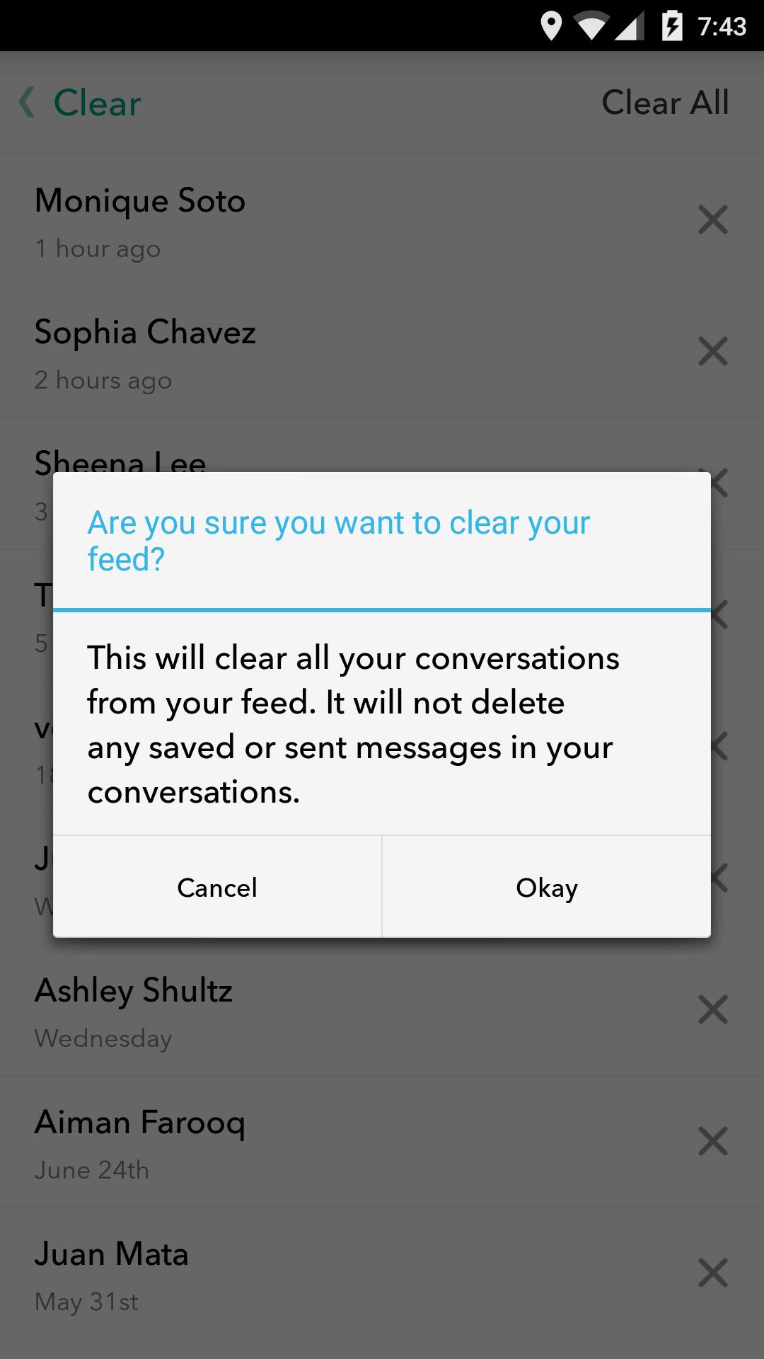 How do i delete a photo on snapchat