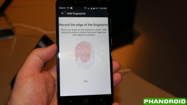 ZMax Pro Fingerprint Set Up