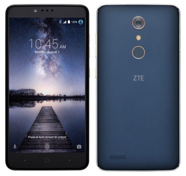 ZTE ZMax Pro press