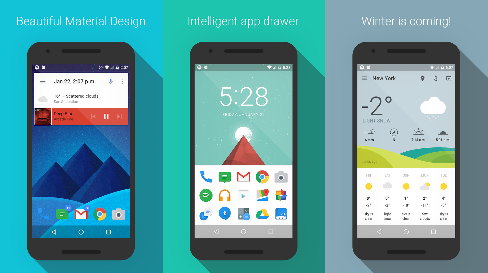 Download This: ASAP Launcher is a fast and material designed home screen