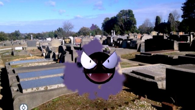 ghost pokemon cemetaries