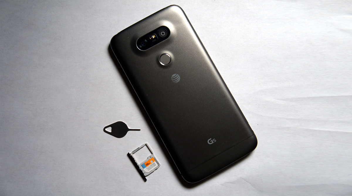 How to SIM unlock the LG G5