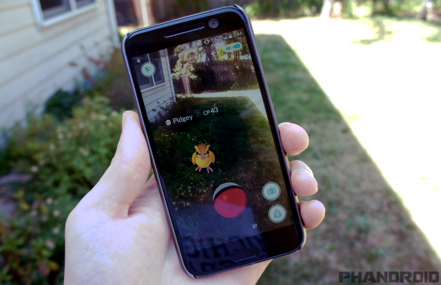 pokemon go pidgey