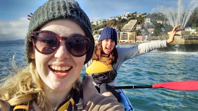 pokemon kayaking
