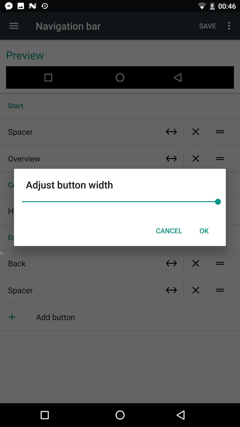 Custom nav bar settings found hidden inside Android 7 0 Nougat