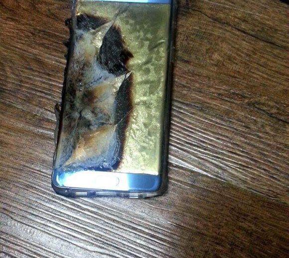 Note 7 burn 3