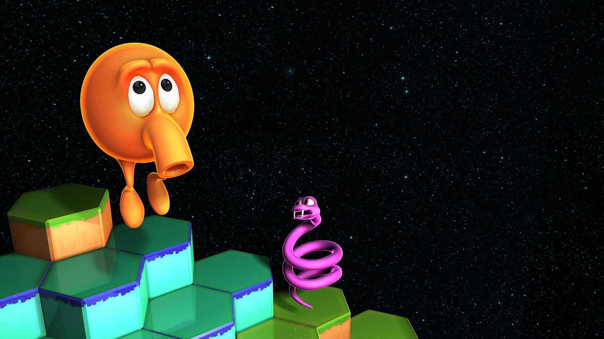 Coin Op Classic Q Bert Gets Hd Reboot On Nvidia Shield Android Tv Phandroid