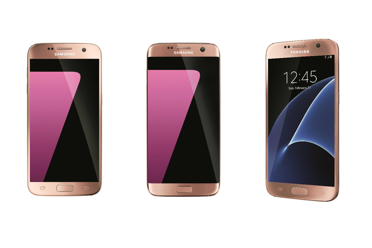 Samsung Announces Pink Gold Color For Galaxy S7edge From