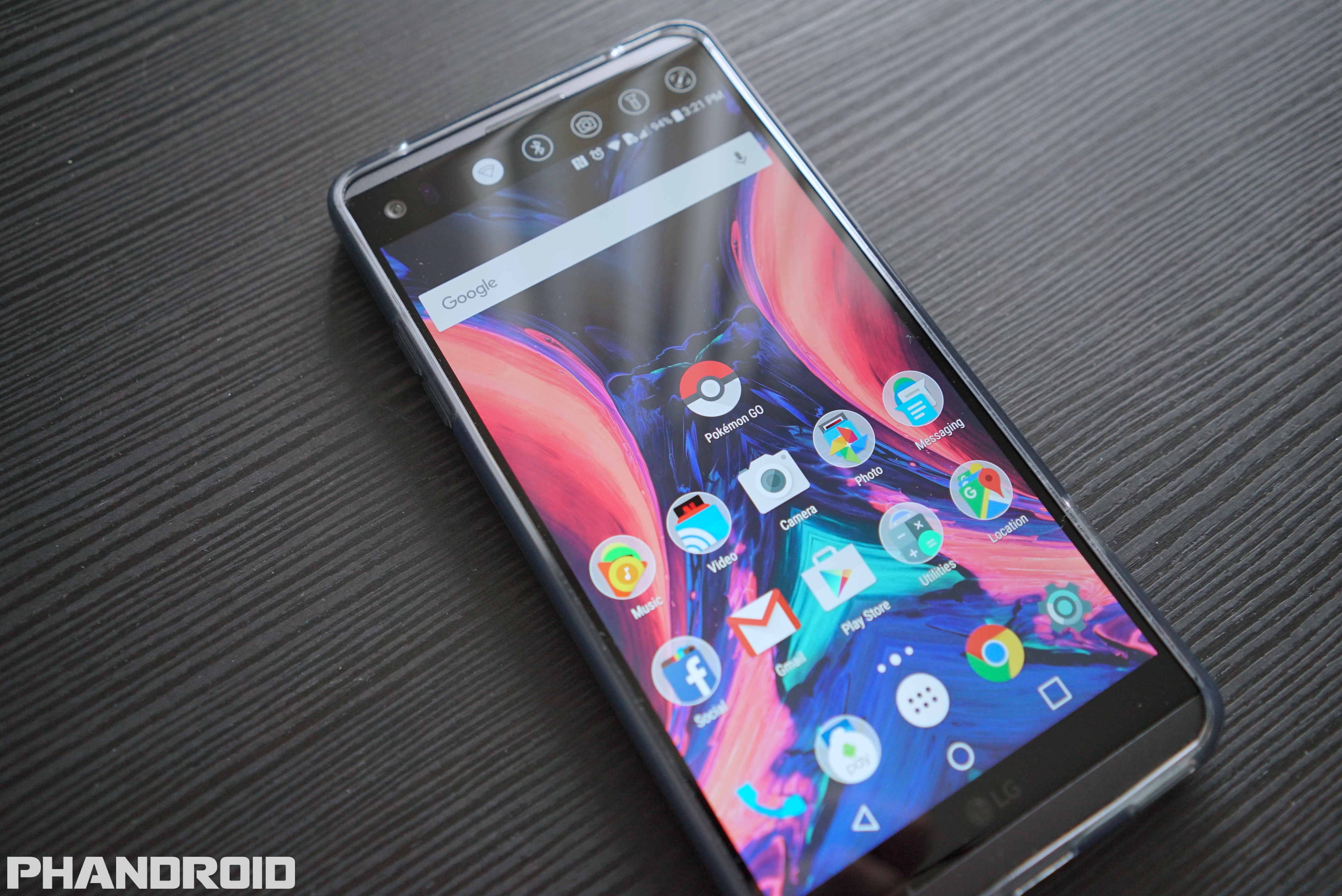 The LG V20 has been rooted