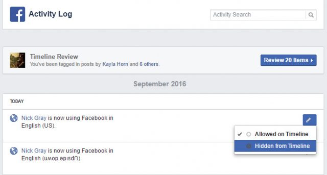 facebook-activity-log