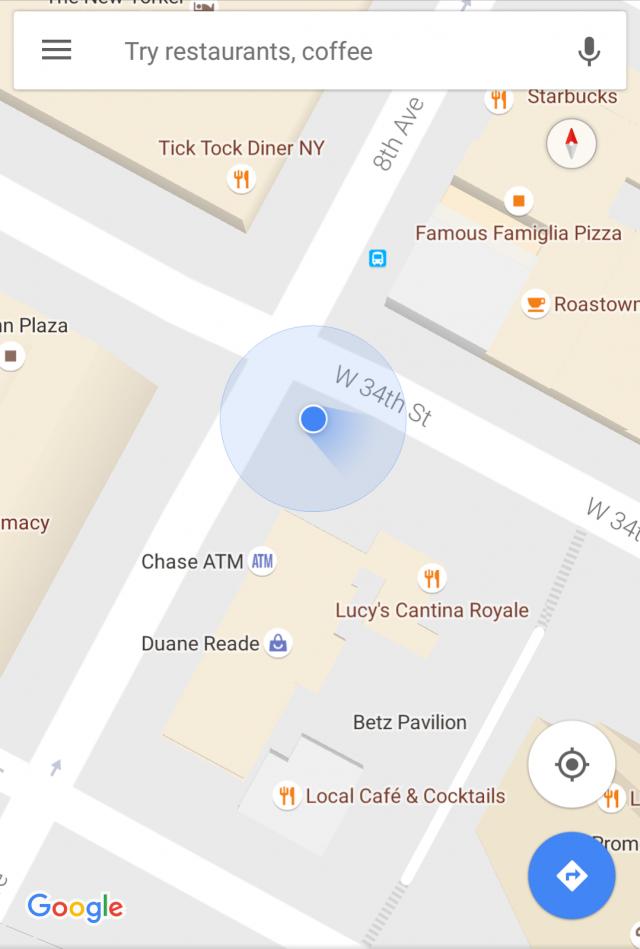 google-maps-cone