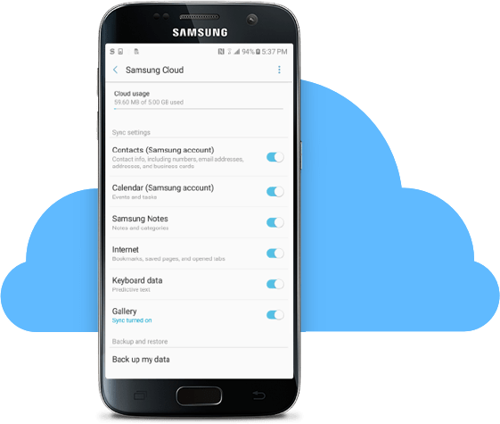How to backup your Samsung Galaxy Note 7 to the cloud before