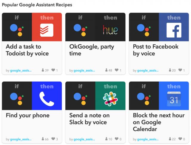 ifttt-google-assistant