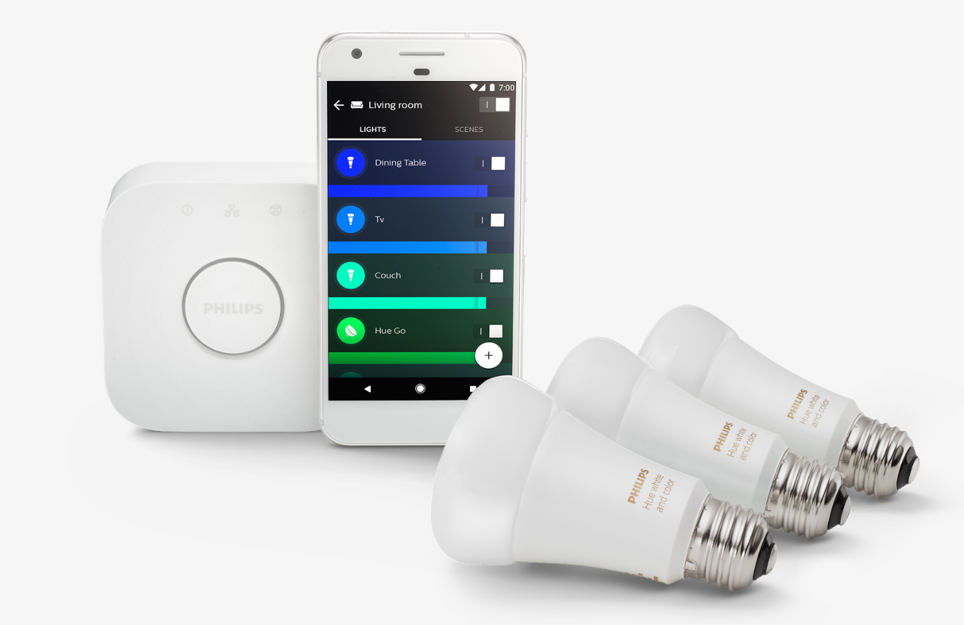 Save up to 50% on Philips Hue and Yeelight smart lighting products