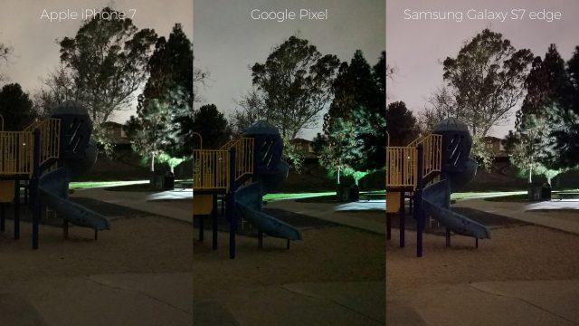 pixel-camera-versus-iphone7-galaxys7edge-night-playground