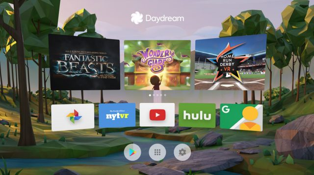 daydream-app-home-screen