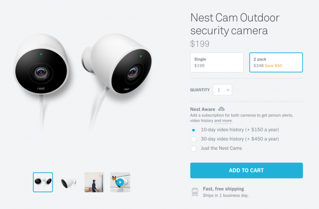Peachy Deal Save 50 Off The Nest Cam Outdoor 2 Pack Interior Design Ideas Jittwwsoteloinfo
