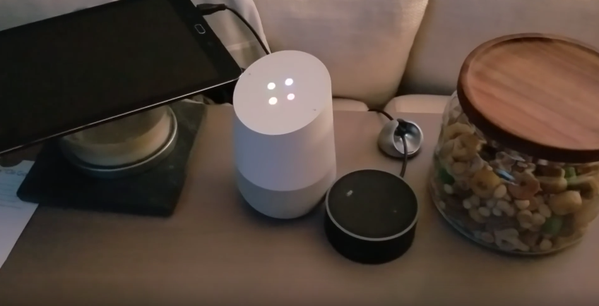 What happens when Amazon Echo and Google Home talk to each other