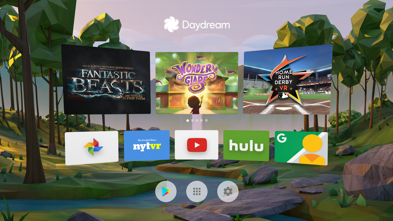 YouTube VR and a Daydream VR hub hit Google Play