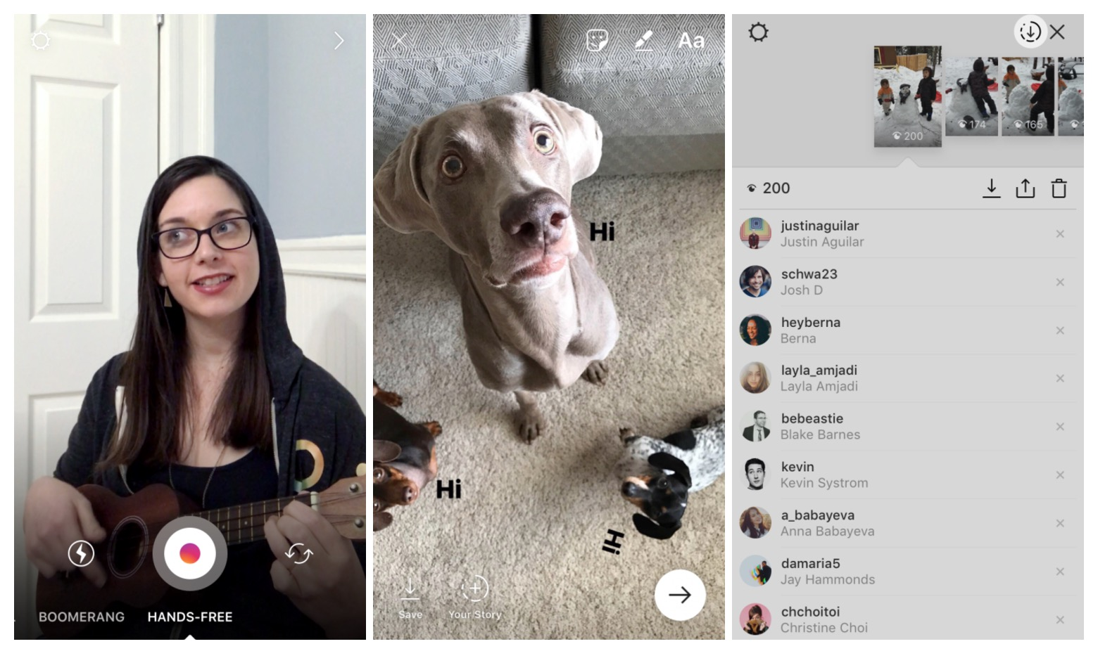 Instagram adds stickers and more Snapchat features