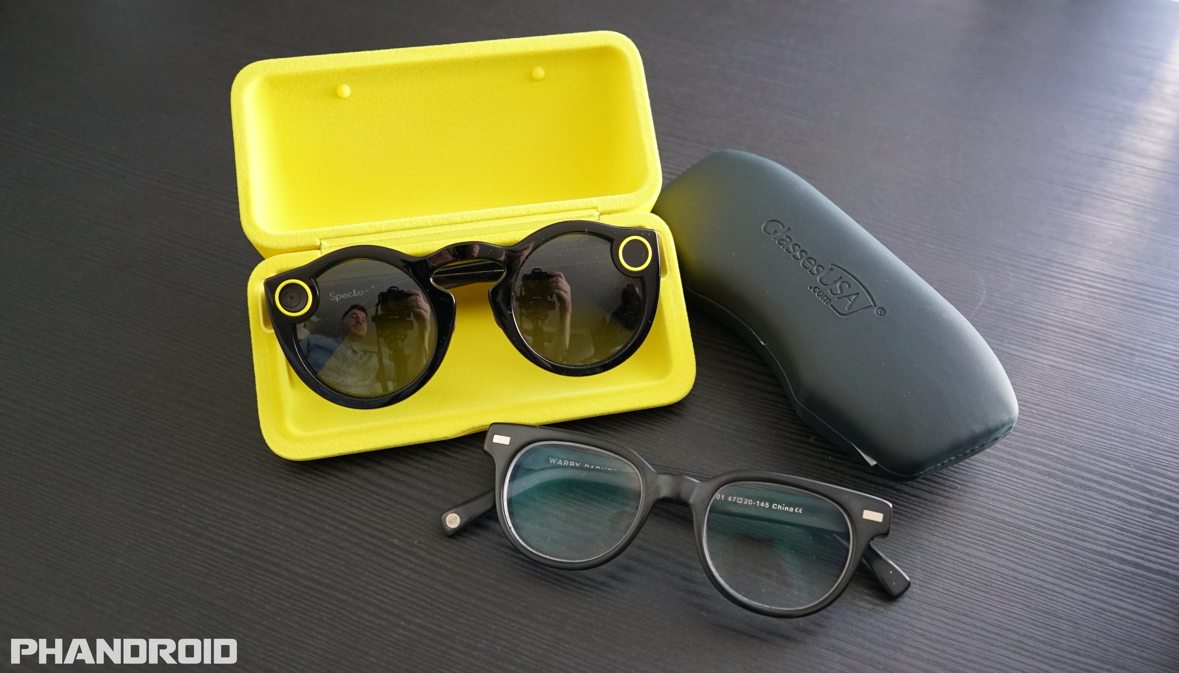 3074b14c1e How to swap out your Snapchat Spectacles shades for clear prescription  lenses  VIDEO