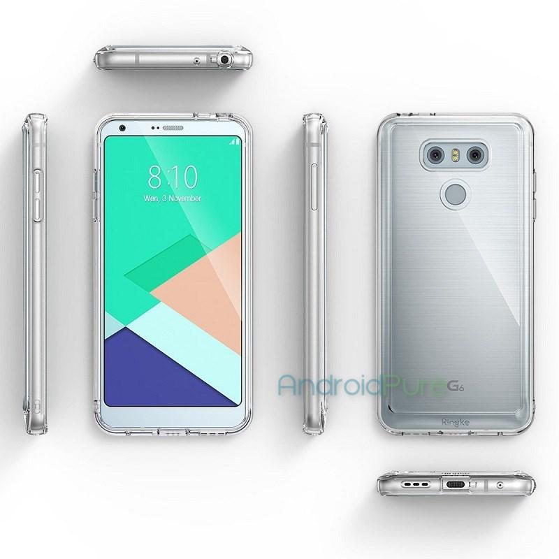 LG G6 case renders reveal the phone in full glory