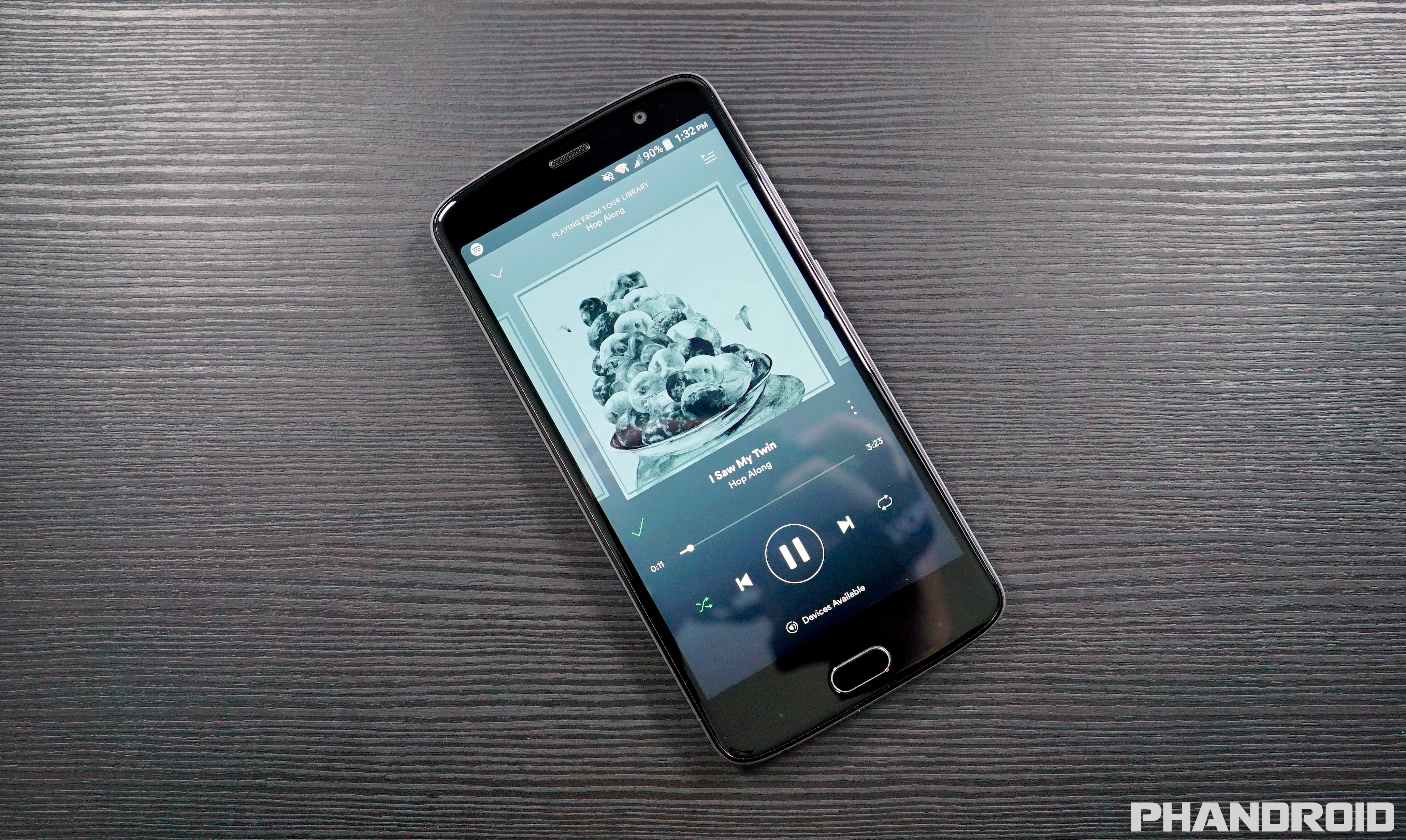 ZTE Blade V8 Pro has issues playing Spotify and other music apps