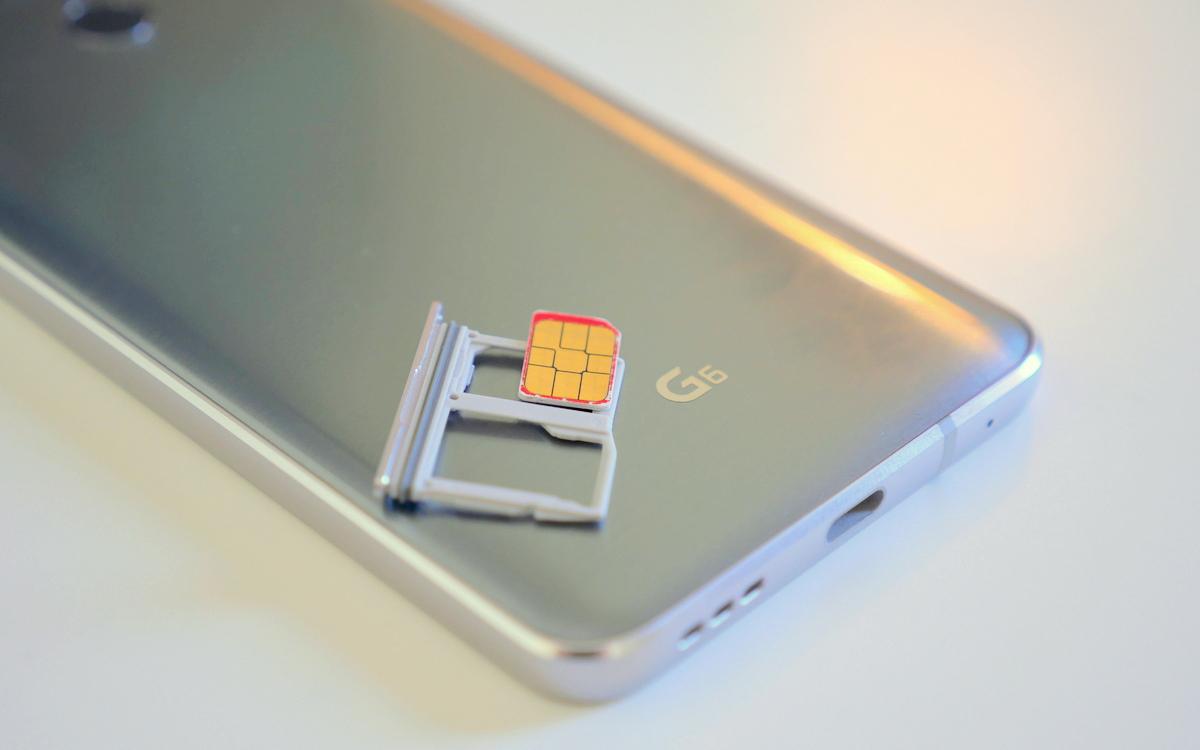 How to SIM unlock the LG G6