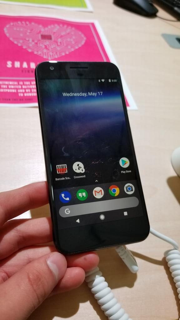 Google may be testing the Pixel Launcher's Search bar below the app dock