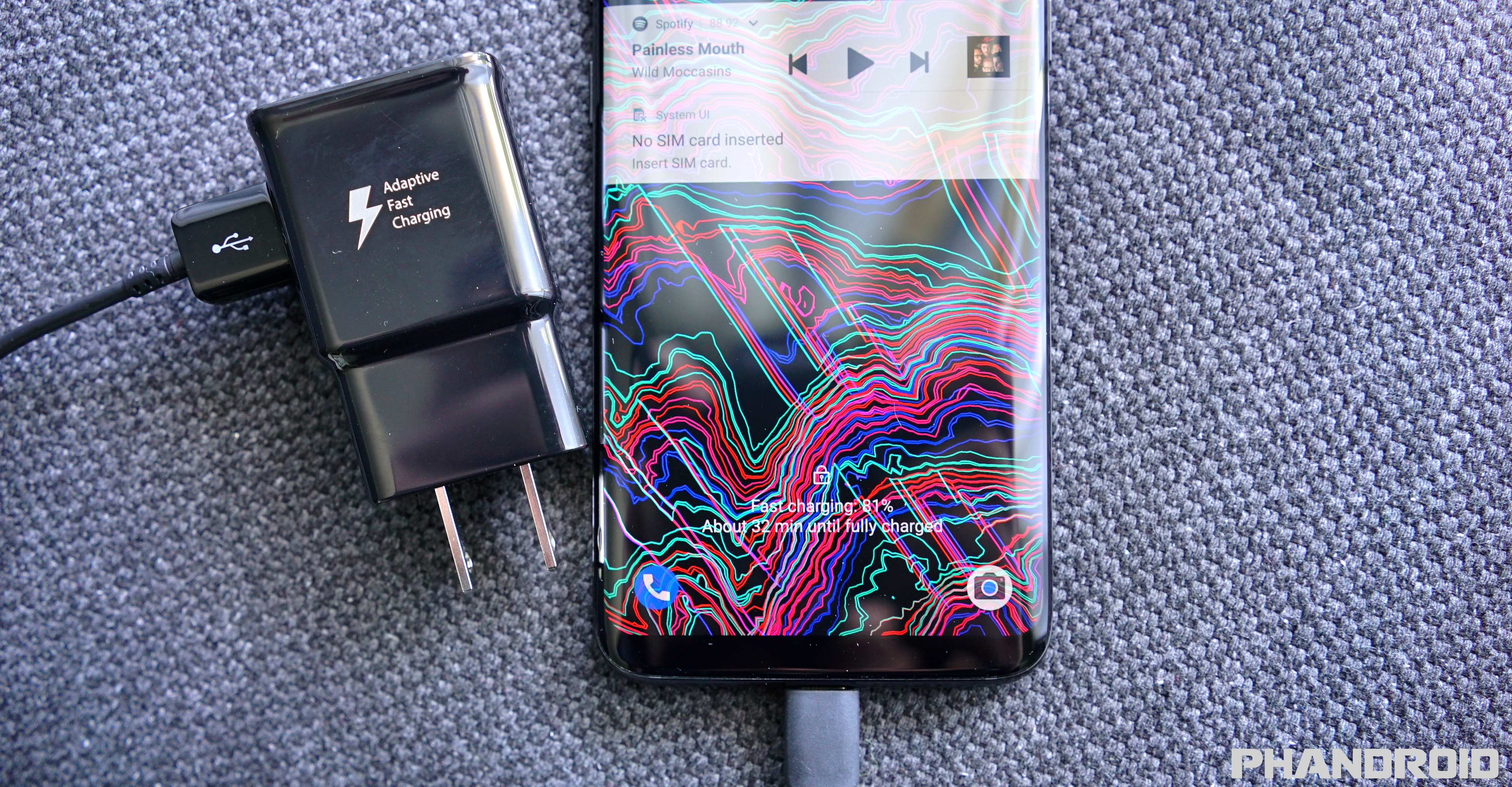 PSA: The Galaxy S8 and S8+ won't Fast Charge while you're using it