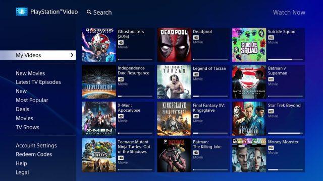 Playstation Video App