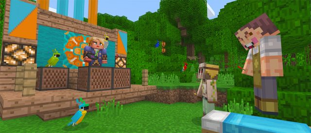How to spawn bees in minecraft pocket edition! (secret bee spawn.