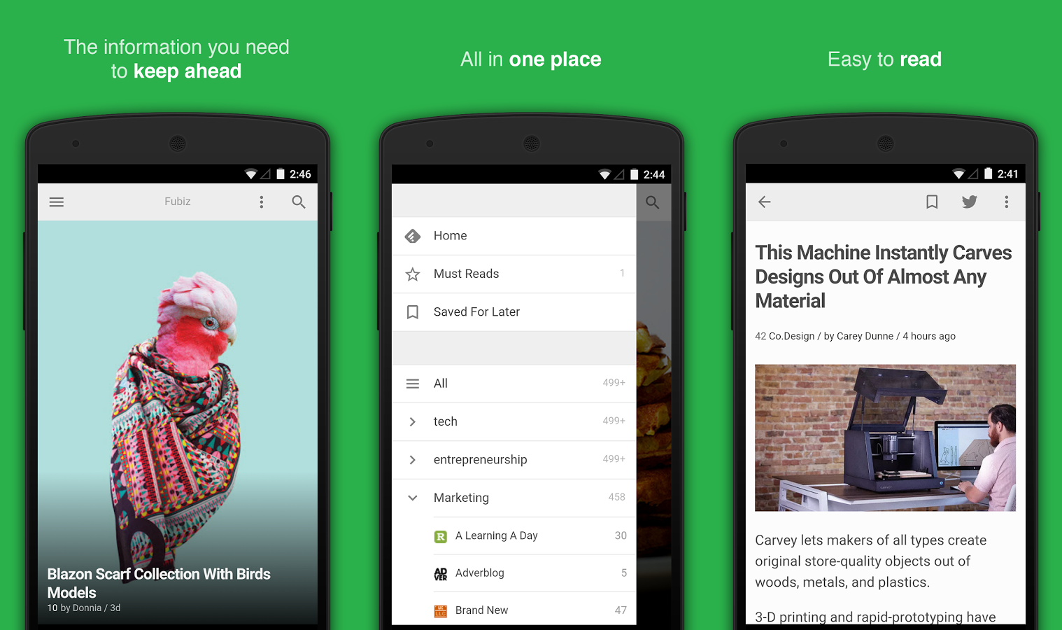 10 Best Rss Readers For Android In 2018 Phandroid