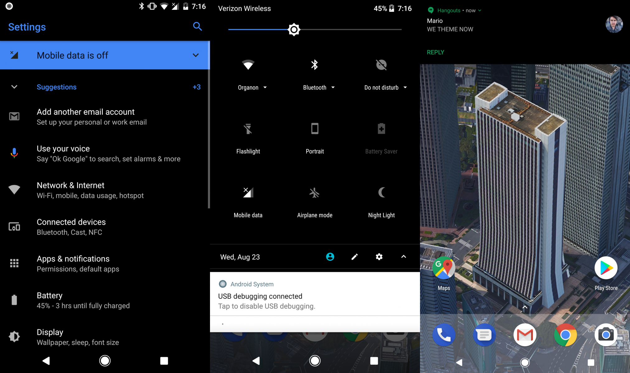 Android Oreo will have system-wide theme support without root