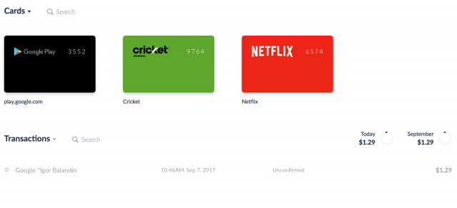 Privacy com generates virtual debit cards for online use