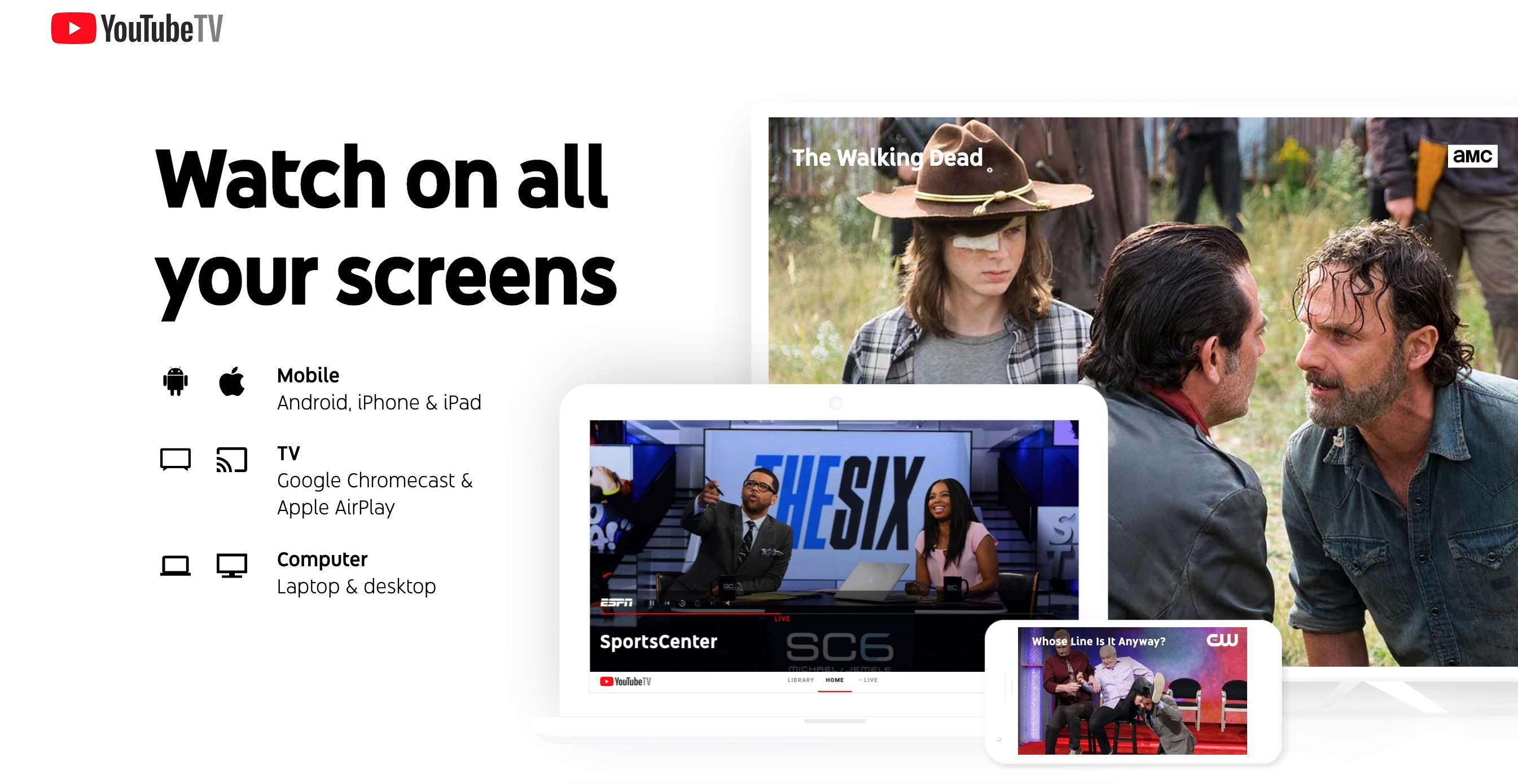 YouTube TV is now available on select Android tablets