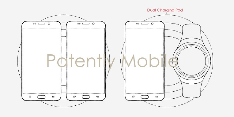 samsung is working on a dual wireless charging pad