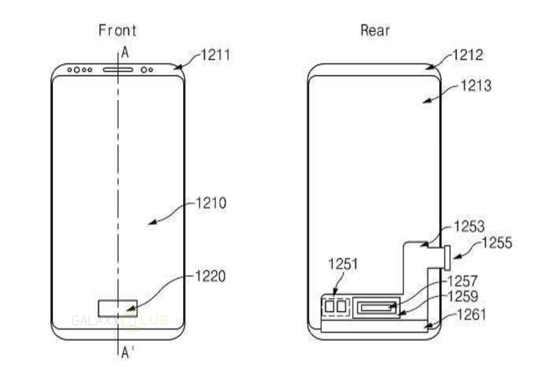 samsung files patent for pressure