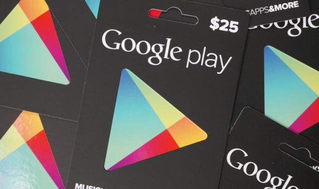 Code Google Play 5 €