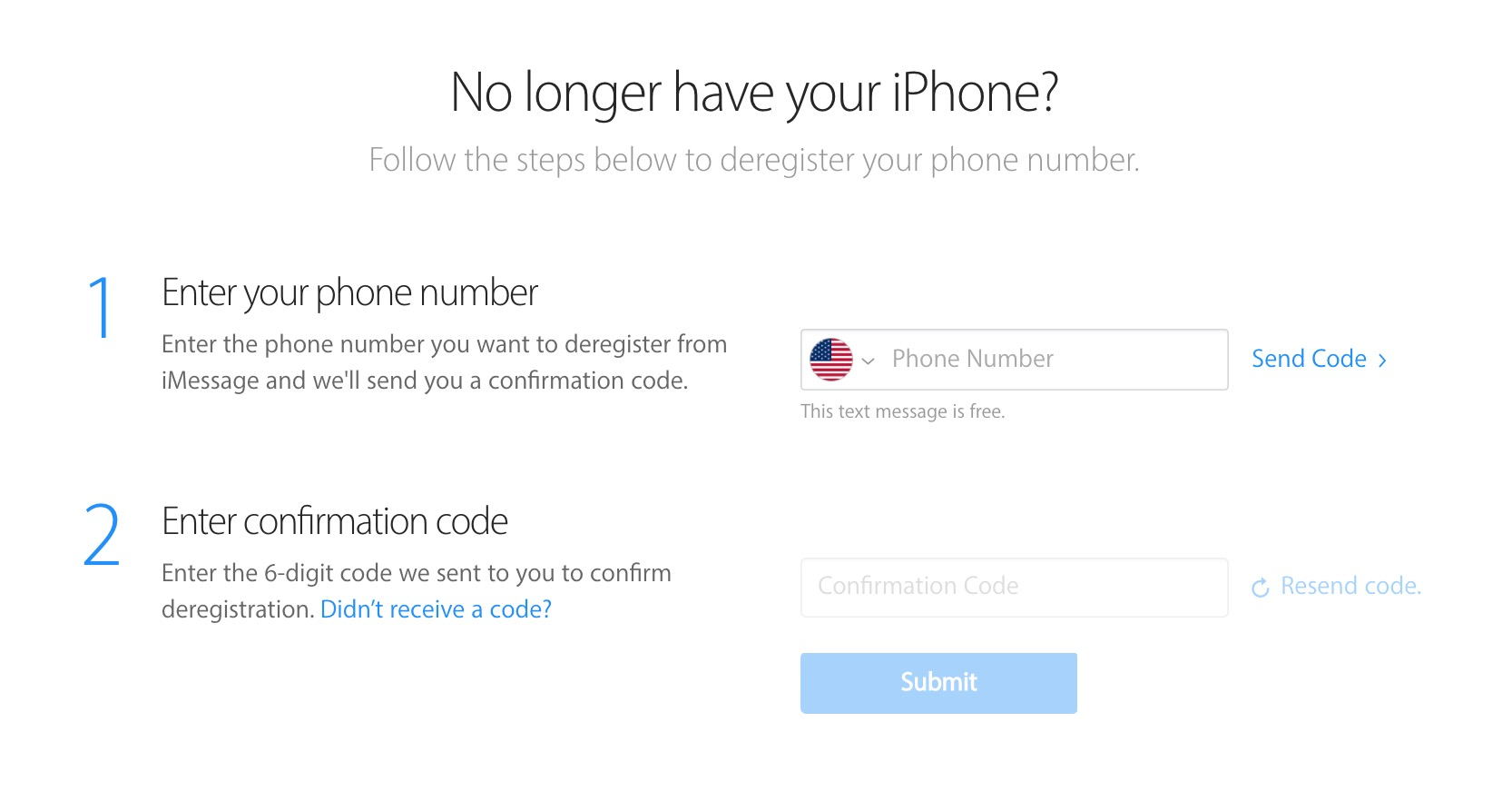 How to turn off iMessage when switching from iPhone to