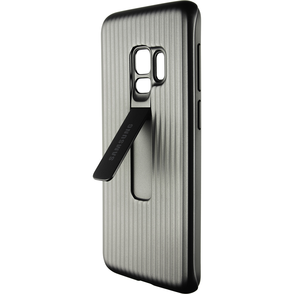 uk availability 593f7 69d2c New leaks reveals fabric and kickstand cases for the Galaxy S9