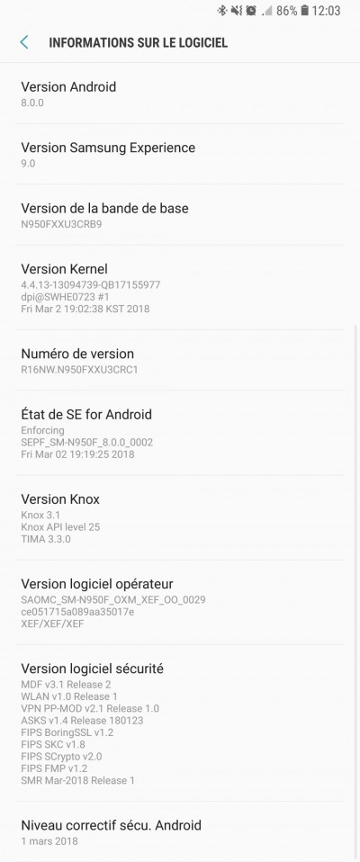 Android In 0 Oreo Just 8 Galaxy 8 Got France Note
