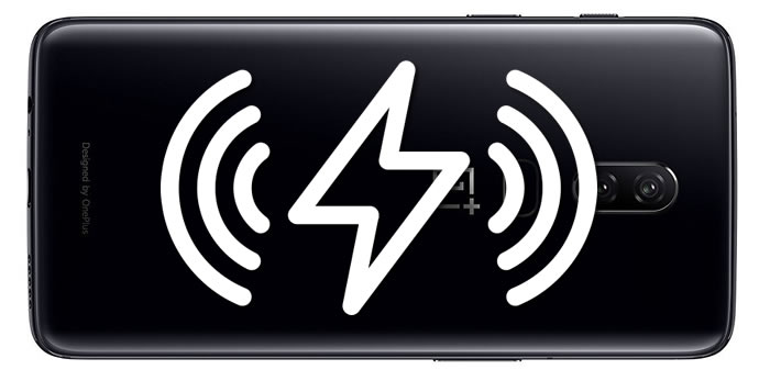 OnePlus 6 wireless charging