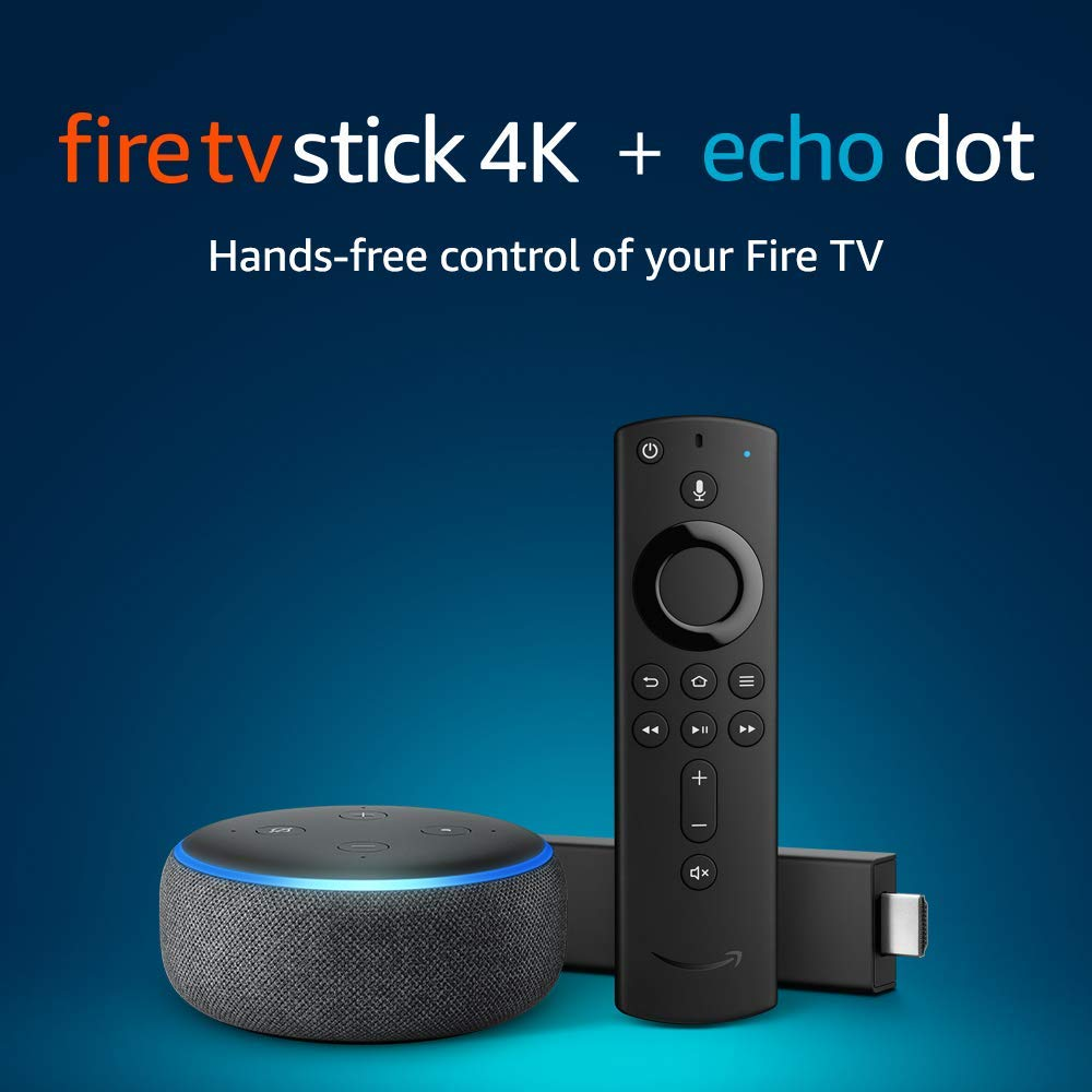 DEAL: Save 20% On Amazon's Fire Stick 4K & Echo Dot Bundle