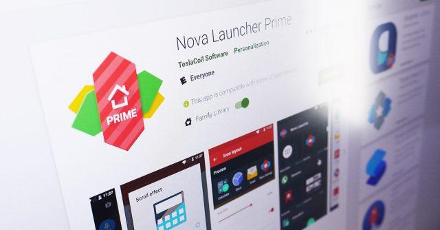 nova launcher prime 6.0 apk 2018