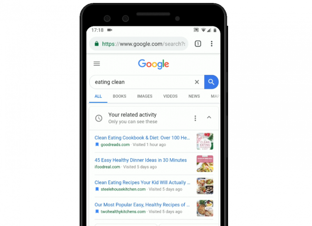 QnA VBage Google for mobile web gains voice search feature