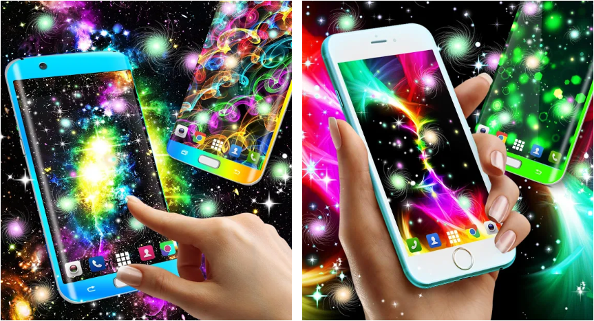 Glowing Wallpaper - 5 Live Wallpaper Apps to keep your android home screen fresh